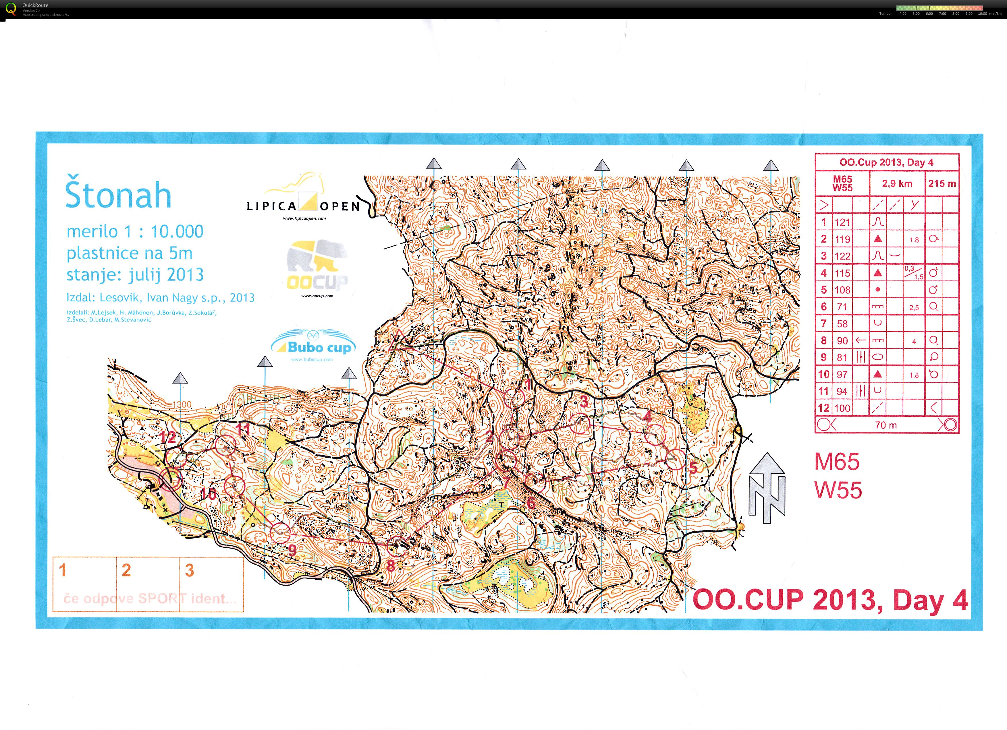 OOCup 2013 Stage 4 (29/07/2013)