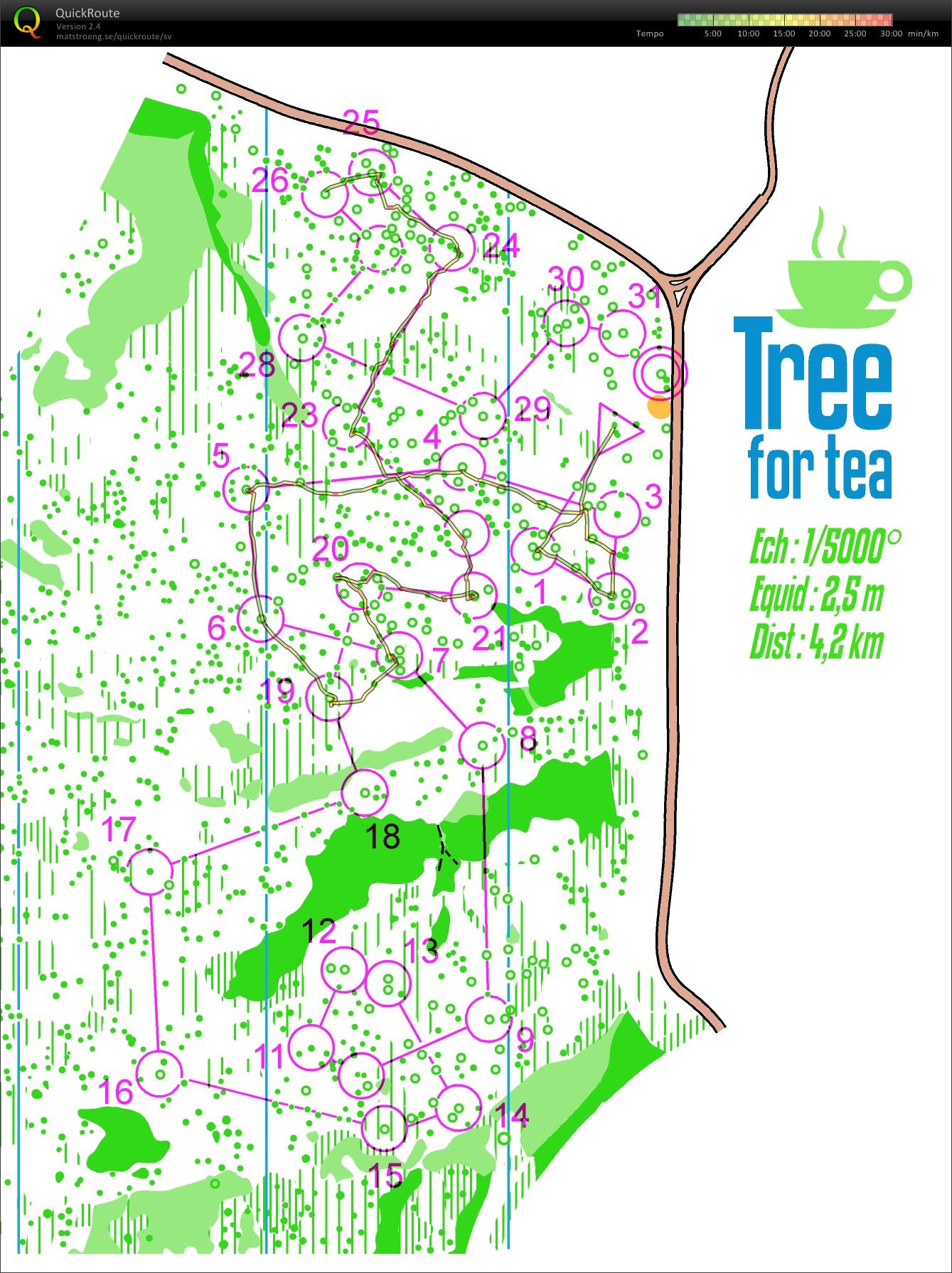 Tree for Tea (21/01/2016)