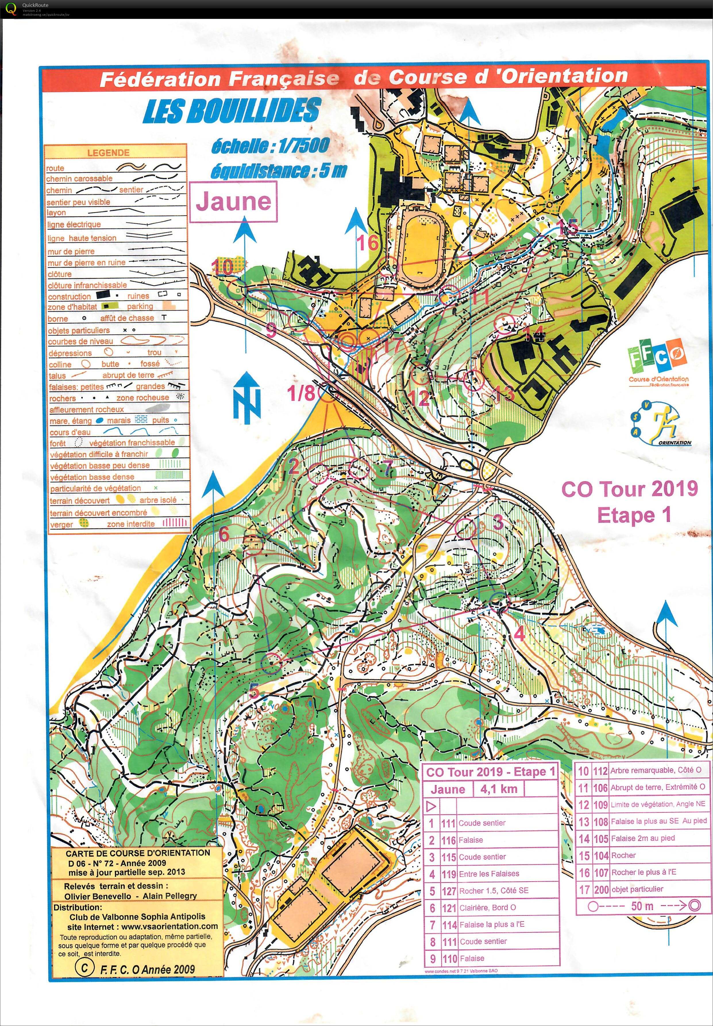 CO Tour 1/5 - May 23rd 2019 - Orienteering Map from Lotta