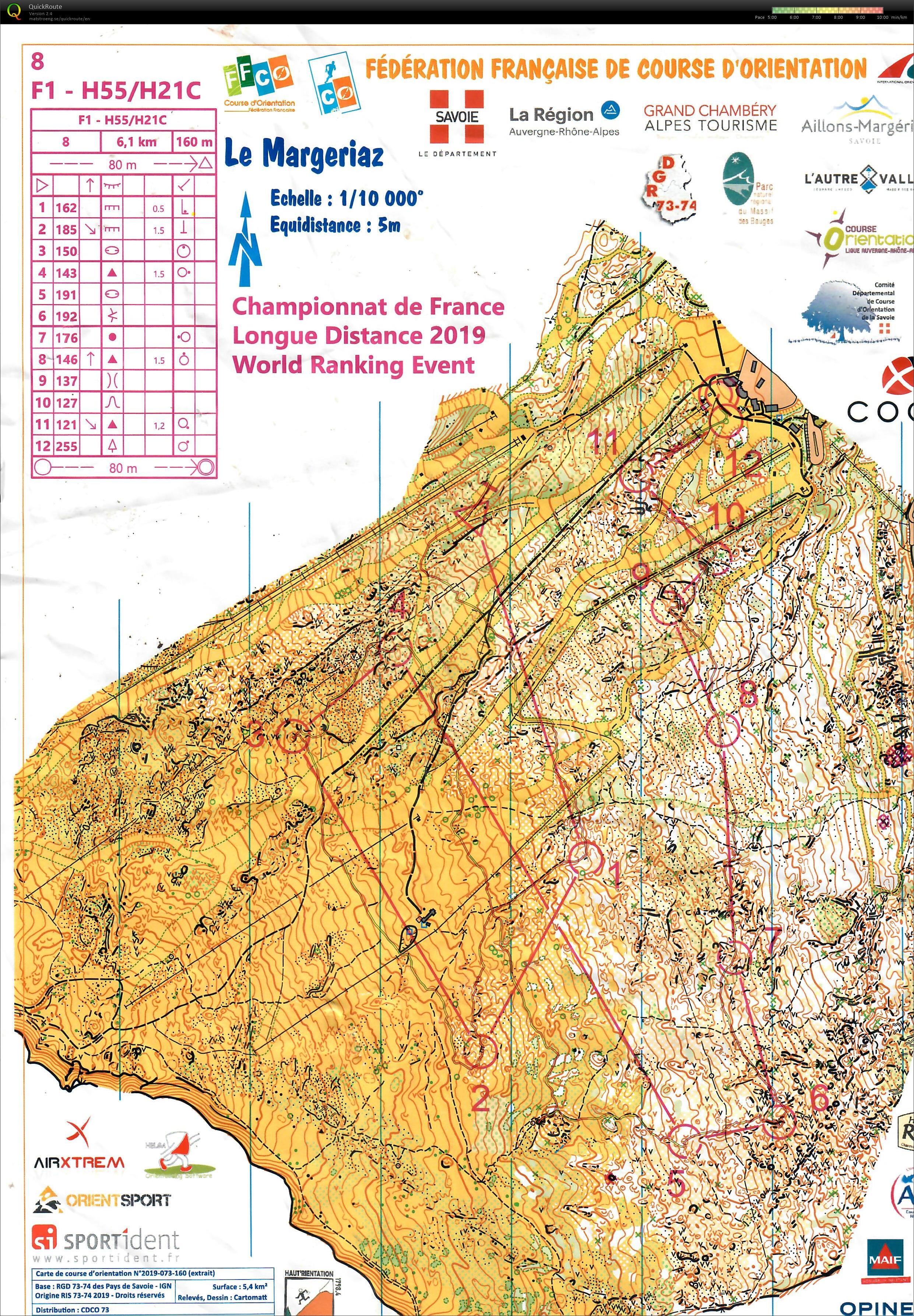 Map Of France 1500.Jens Doma Championnat De France Ld M55 Woow 02 06 2019